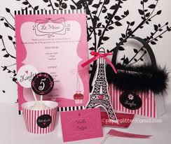 Paris Decorations Pink Paris Party Kit