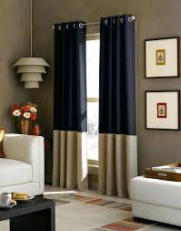 Navy Blue Chevron Curtains Navy Blue Curtain Panels Blue Panel Curtains Color Block Grommet