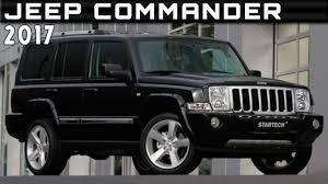 2017 Jeep Commander Review Rendered Price Specs Release Date Youtube