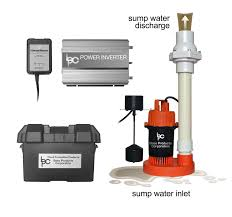 water powered backup sump pump hydropump ph3000 pro battery powered backup sump pump