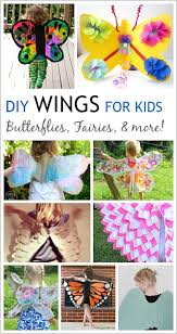 12 diy wings to make for kid costumes bat wings angel wings and