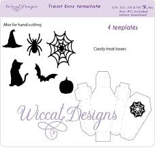 halloween coffin svg template treat box candy box svg