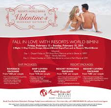 resorts world bimini valentines day promotion easy 93 1