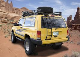 jeep cherokee xj sunroof gobi jeep cherokee xj ranger tire carrier roof rack gjcrt jeep