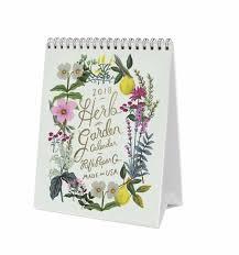 2018 herb garden desk calendar by rifle paper co made in usa