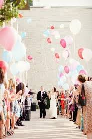 wedding send ideas 25 creative wedding exit send ideas balloon wedding