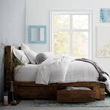 emmerson reclaimed wood storage bed natural west elm