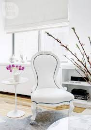 Feminine Living Room Small Space Feminine Manhattan Condo Style At Home