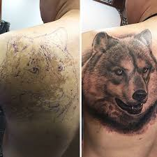 genius tattoos that work well with birthmarks