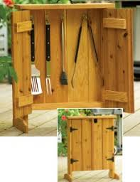 Barbecue Cabinets Free Barbecue Tool Cabinet Plans Woodwork City Free Woodworking