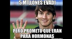 Memes De Lionel Messi - lionel messi divertidos memes tras su sentencia de 21 meses de