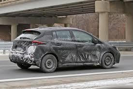 nissan leaf japan models 2018 nissan leaf spied it u0027s more car like than the first