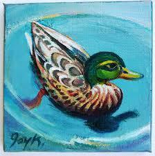 duck paintings art by joy a kirkwood
