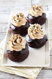 gluten free vegan dark chocolate mocha mini cakes sarah bakes
