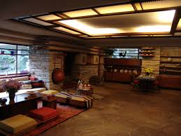 frank lloyd wright style architecture interior design