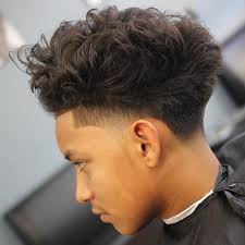 Temp Fade Haircut With Curls Related Image African Beauty Kids And Guys Pinterest