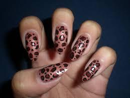 easy leopard print nail design anna charlotta