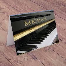 personalised card grand piano gettingpersonal co uk