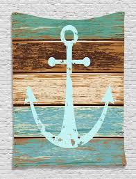 Wooden Anchor Wall Decor Stylish Nautical Wall Décor Wall Decor Equipment Around Pool