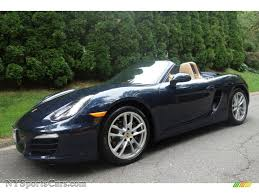 porsche dark blue metallic 2014 porsche boxster in dark blue metallic 120376 nysportscars