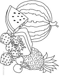 12 images of watermelon coloring page preschool preschool