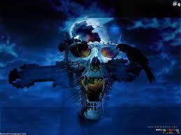 download halloween terror animated wallpaper desktopanimated com free skull wallpapers wallpapersafari