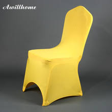 yellow chair covers buy yellow chair covers and get free shipping on aliexpress