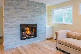 Tiled Fireplace Wall by Fireplace 3