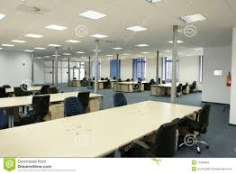 bureau vide intérieur de bureau bureau vide moderne de l espace ouvert photo