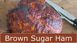 how to bake a ham brown sugar glaze the frugal chef