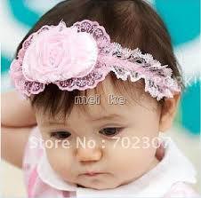 lace headwear flower lace headwear headband headdress baby hairpin