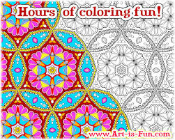 abstract patterns coloring pages u2014 art fun
