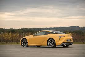 lexus lc pricing 2017 lexus lc 500 and lc 500h price and features for australia
