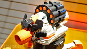 nerf remote control tank remote control nerf firing robots are the answer to every kid s