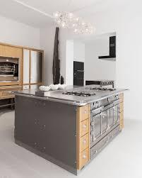 professional stainless steel cooker islands la cornue by la cornue