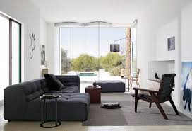 Gray Couch Decorating Ideas by Living Room Extraordinary Living Room Design With Dark Grey Sofa