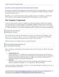 joomla blank template joomla template tutorial