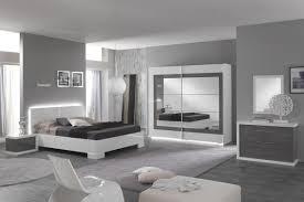 chambre noir gris mobilier de chambre king size