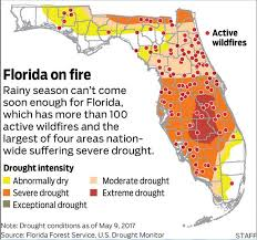 temperature map florida just in florida suffers four months in 122 years