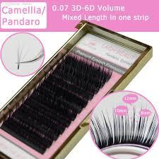 3d extensions wholesale camellia eyelash pandora 3d 6d 0 07 volume eyelash