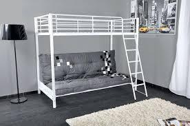 lit mezzanine avec canape lit mezzanine blanc mezzaclic 2 lestendancesfr photo lit mezzanine 2