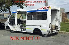 Ambulance Meme - left my ambulance outside the hospital nek minnit know your meme