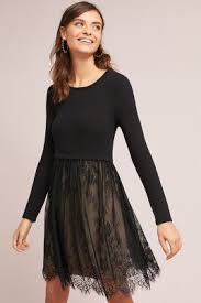 sleeve black dress dresses for women anthropologie