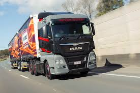 all new man tgx d38 enters 15 litre aussie truck market man