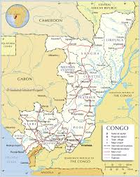 50 States Map With Capitals by Administrative Map Of Republic Of The Congo 1200 Pixel Nations