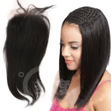 black hair weave part in the middle middle part 4 x4 8 20 inch top grade straight malaysian virgin