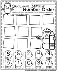 january preschool worksheets planning playtime