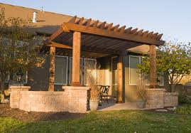 pergola design amazing building a pergola over a patio round