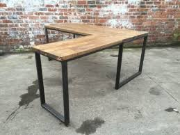 Modern Industrial Desk Nice Metal Computer Desk With Hutch Perfect Home Furniture Ideas