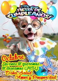 imagenes feliz octubre feliz cumpleaños en octubre